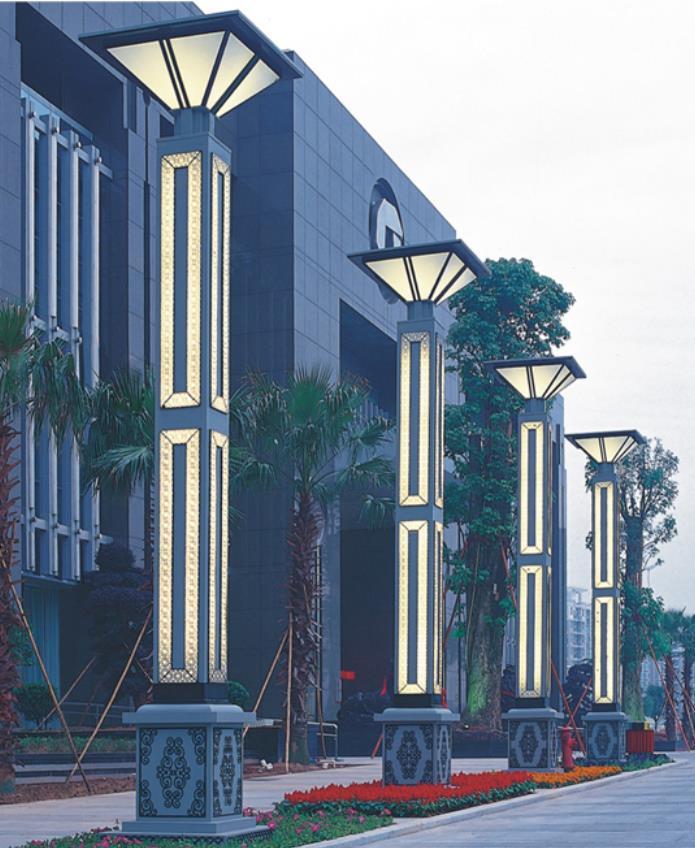 方型景观灯柱